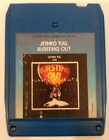 Jethro Tull Bursting Out Live 8 track tape