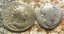 Antoninianus Says Valentinian, Denarius Says Pius, Probably Valerian & Aurelius