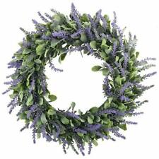 Artificial Lavender Wreath/Candle Ring Flower Arrangement - Only used ONE time