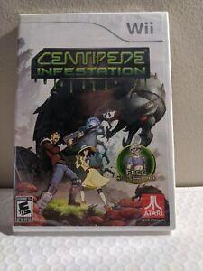 CENTIPEDE INFESTATION (Nintendo Wii, 2011) NEW SEALED