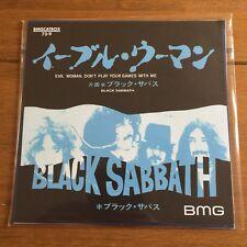 """Black Sabbath - Evil Women 7"""" Vinyl"""