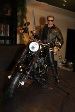 Hot Motorbike terminator figure 1/4 Enterbay T-800 T-850 T-1000 statue toys 2 3