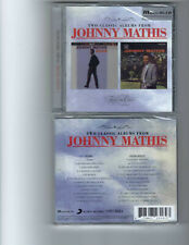 JOHNNY MATHIS - WARM / SWING SOFTLY (CD 2020) NEW   **24 TRACKS**