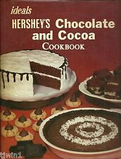 IDEALS HERSHEY'S CHOCOLATE AND COCOA COOKBOOK 1982 HARDBACK BOOK WITH DUSTJACKET