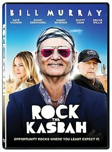 Rock The Kasbah (DVD) Bill Murray, Bruce Willis, Kate Hudson NEW