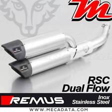 Pot échappement Remus RSC Dual Flow Inox sans Cat Vespa GTV 300 Sei Giorni 2018