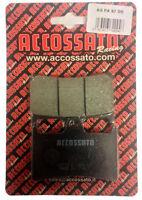 Pastiglie Accossato Anteriori Organica Yamaha YZF R1 1000 2001 2002 2003