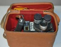 Mansfield Holiday Meter Matic 8mm Cine Movie Camera in Case [PL-2296 A ]