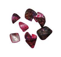 50 g PERLMUTT Muscheln PERLEN Rosa 80stk NATUR SHELL Beads Schmuck BEST U142