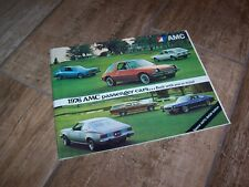 Catalogue / Brochure AMC (American Motors)  Gamme / Full Line 1976 //