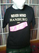 FC ST. PAULI Never Mind Hamburg Here Is T-SHIRT Gr.M USP Sex Pistols SCHWARZ Rar