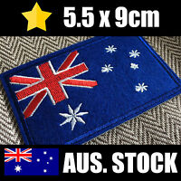 Australian Flag Patch - Iron On - Sew/Stitch/Glue On - Aussie Badge