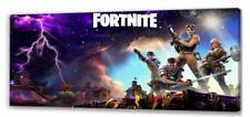Fortnite 3 Long Canvas Picture