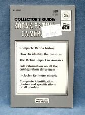 KODAK RETINA CAMERA COLLECTORS GUIDE 1973 - NEW OLD STOCK - FREE USA SHIPPING
