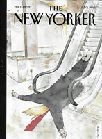 The New Yorker Magazine Thumbs Up July 30 2018 Henry Taylor Brexit Informant