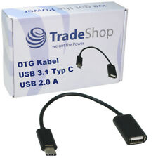 OTG Kabel Adapter USB Typ C zu USB 2.0 A Buchse für Huawei P20 Lite Pro