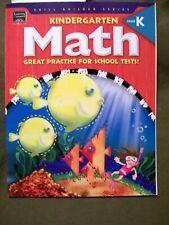 Skill Builder Series: Kindergarten Math Grade K (2003, Softcover) School Tests