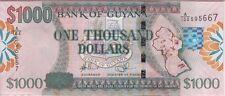 GUYANA BANKNOTE P#35 1,000 1.000 1000 DOLLARS  UNCIRCULATED USA SELLER