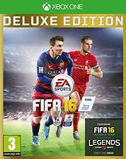xbox one-fifa 16 (deluxe edition) - inkl. exklusive fut legends! * neu *