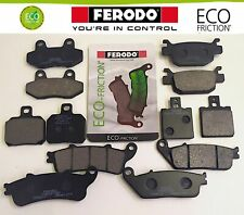 FERODO PASTIGLIE ECO FRENO POST TRIUMPH 885 LEGEND TT 1999-2001