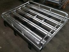 158cmx117cm Aluminium 4WD Roof Rack Luggage Cargo Carrier Basket