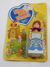 Mattel 1978 Shoe Baby Beans Sneakers Miniature Doll SEALED