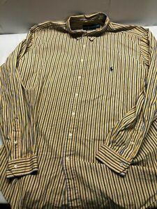 Ralph Lauren Sz 2XLT Tall classic fit Men's Button Down Shirt  Long Sleeve