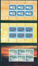 Greenland #283a/423b Booklet Panes, 30 different, Nh, Scott $383.25