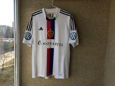 Basel 1893 Away football shirt 2012/2014 Jersey Xl Soccer Adidas Signed Players