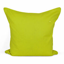 """Plain Dyed Luxury 100% Cotton Cushion Cover For Home Sofa Décor Size 16"""" 18"""" 20"""""""