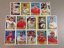 2016 Topps Heritage Philadelphia Phillies Team Base set 14