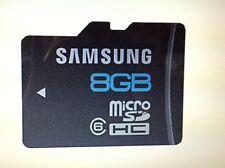 Samsung 8GB Micro SD For Samsung Galaxy S8 S8+ S7 S7 Edge S5 S4 + Mini N3 J5 A3