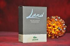 LACOSTE LAND POUR HOMME EDT 100ml., DISCONTINUED, VERY RARE, NEW IN BOX