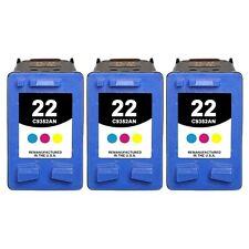 3-PACK Remanufactured Color Ink Cartridges for HP OfficeJet 5610v 5610xi Printer
