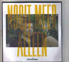 Gers Pardoel-Nooit Meer Alleen Promo cd single