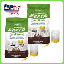 2-Pack 10.5 lbs. Diatomaceous Earth Food Grade 100% Powder Duster Applicator New