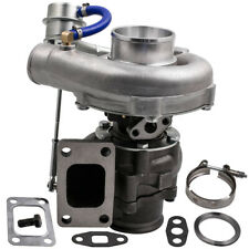 T3/T4 T04E V-BAND Turbocharger Turbo .63 A/R .5A/R Internal Wastegate Universal