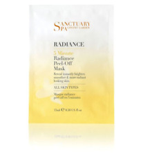 Sanctuary Spa Radiance 5 Minute Peel Off Mask 15ml NEW