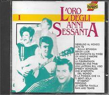 """RARO CD FUORI CATALOGO 1991 """" L'ORO DEGLI ANNI SESSANTA 1 """""""