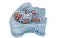 Berbesa - Bebe recién nacido vestido toquilla muñeca 42 cm vinilo. (5100A)