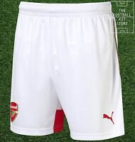 Arsenal Home Shorts  - Official Puma Boys Football Shorts - All Sizes