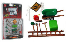 New! Hobby Gear: Landscaping Set Serries 1 1/24 Scale for Diecast Models Toys