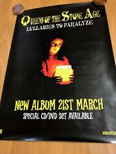 Queens Of The Stone Age Genuine Interscope LULLABIES TO PARALYSE promo Poster