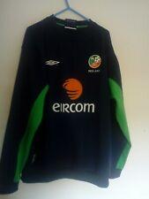 Men's Republic of Ireland Umbro 2010-11 Used Home Shirt Good Condition