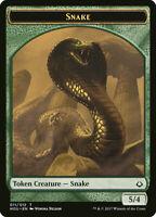 4x Snake Token - MTG Hour of Devastation HOU - Mint/NM Pack Fresh