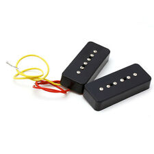 1 Set Soap Bar Pickups Black For LP P90 Electric Guitar Facilitated Installation