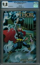 THOR THE MIGHTY AVENGER #1 CGC 9.8 (9/10) Marvel variant white pages