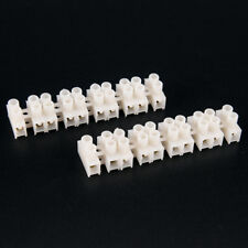 10PCS Practical Durable 10A 2 Way Electrical Screw Terminal Block ConnectorNTP