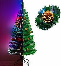 Weihnachtsbaum Christbaum Tannenbaum 180cm LED Glasfaser künstlicher Farbwechsel