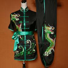 Men's Women's Wushu Competition Costume Changquan Tai chi Uniform Kung fu Suit